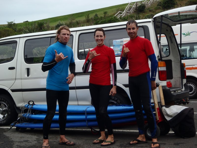 Steve from Surf Safe in Raglan
