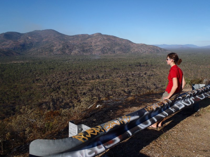Roadside Lookout heading to Cooktown