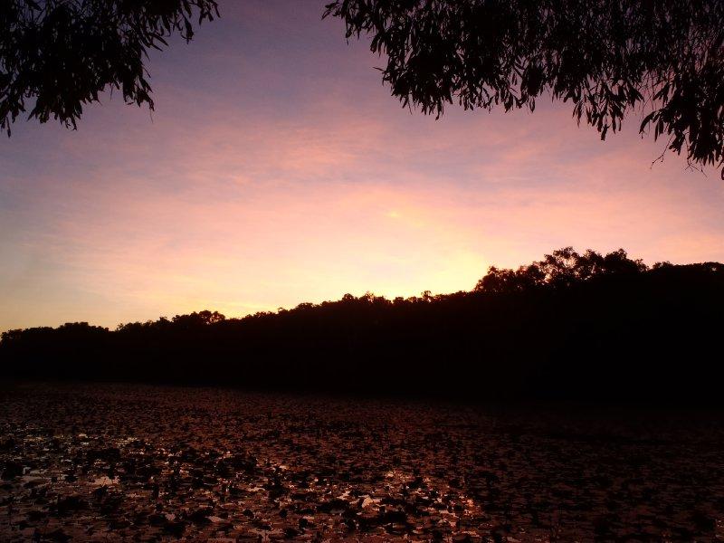 Sunset at Keatings Lagoon