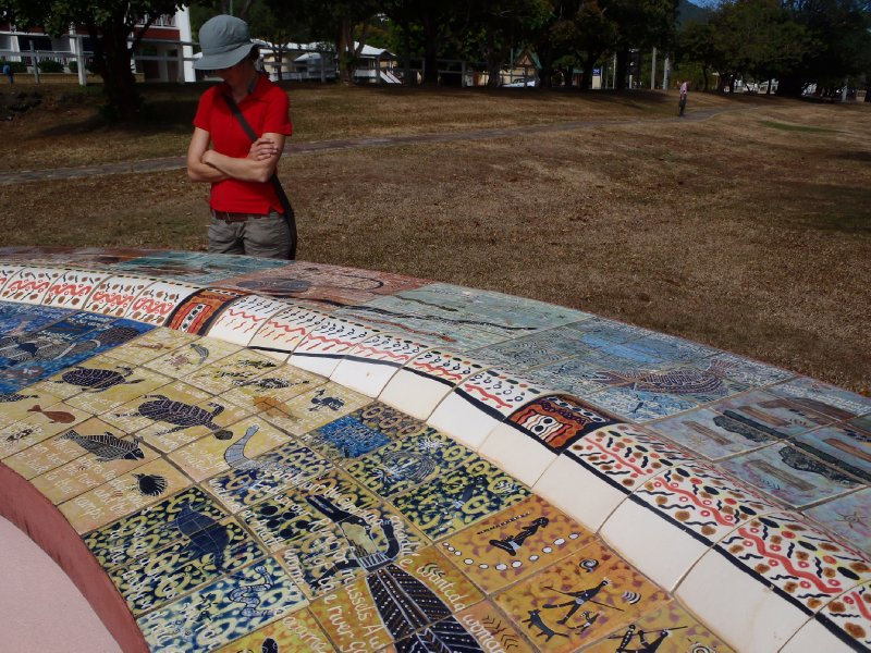 Milbi Wall - Aboriginal Stories