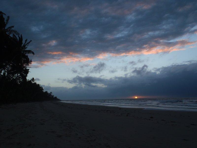 Sunrise at Cedar Bay NP