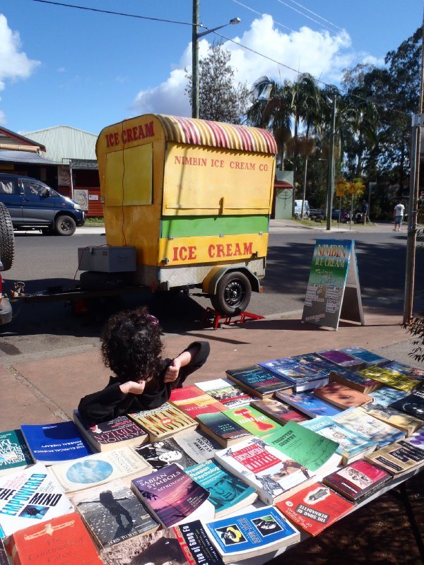 Little Girl Waiting for Ice Cream in Nimbin