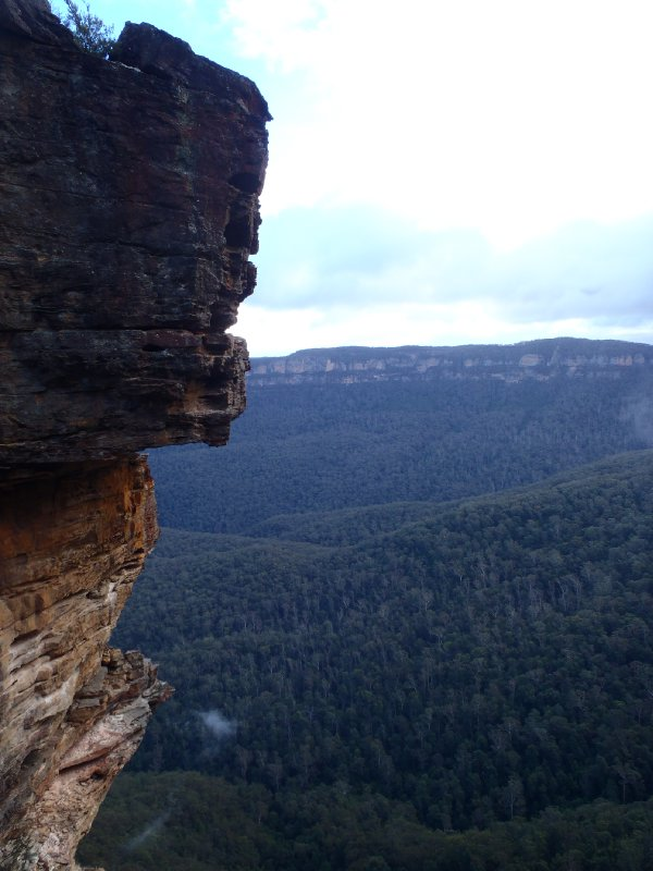 Jamison Valley in Blue Mountains NP
