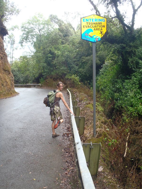Entering Tsunami Zone with Poo Poo
