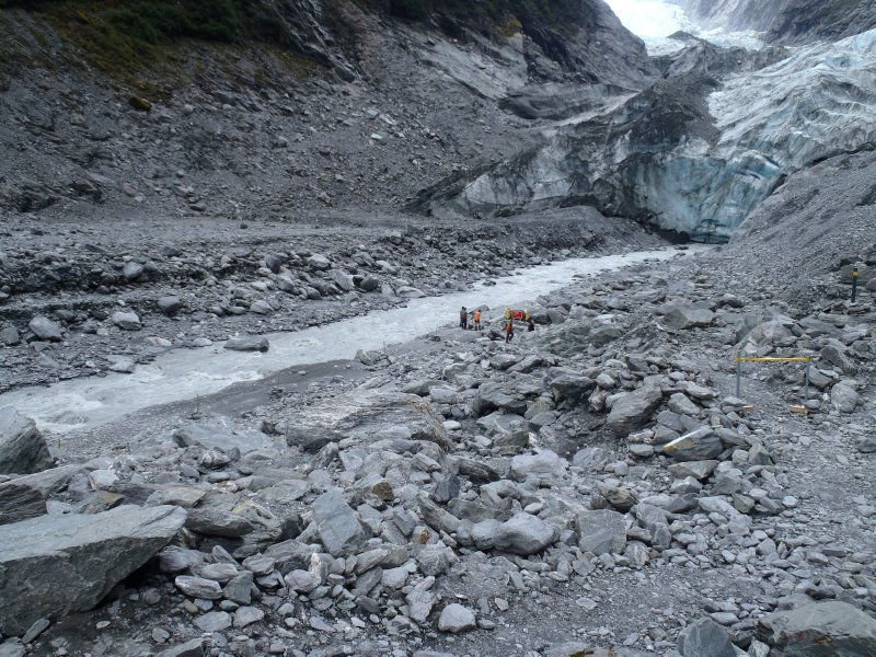 Franz Josef Glacier Terminal Face