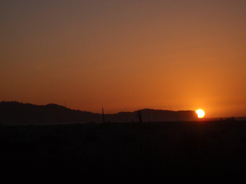 Gillespies Beach Sunset