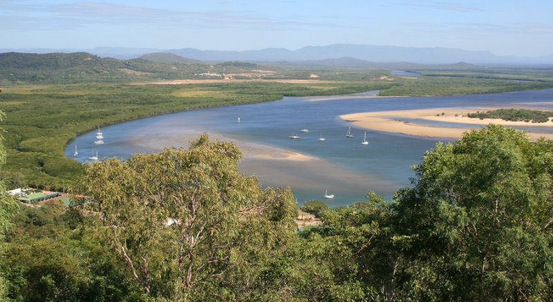 Cooktown from Grassy Hill Lookout