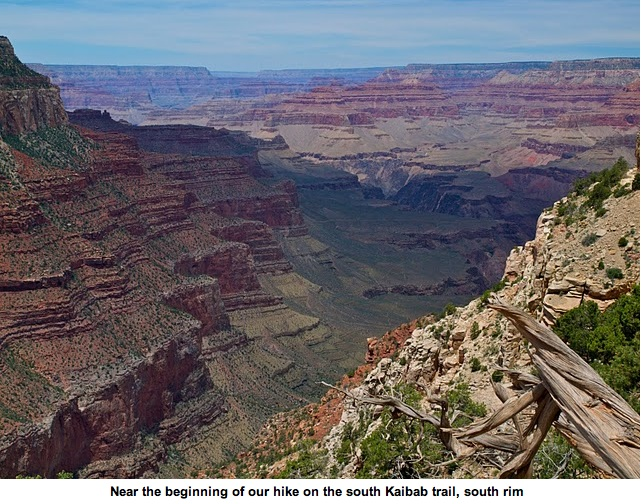 The Grand Canyon Kaibab Trail