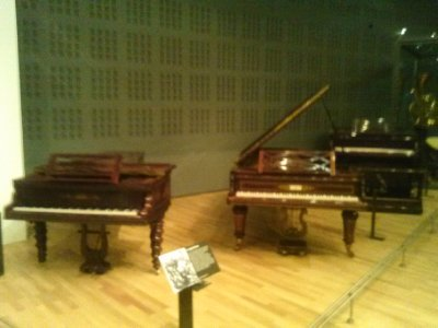 Highlights from Cite de Musique museum - 19th century pianos