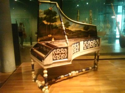 Highlights from Cite de Musique museum - gorgeous harpsicord
