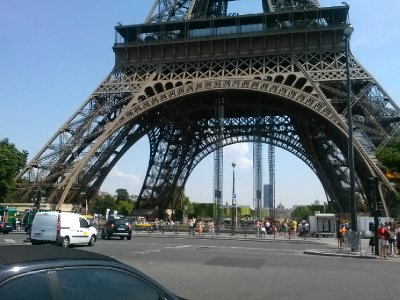 Bottom of the Eiffel Tower