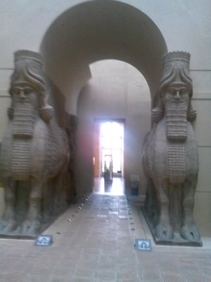 Highlights from the Louvre museum - Mesopotamian era stuff