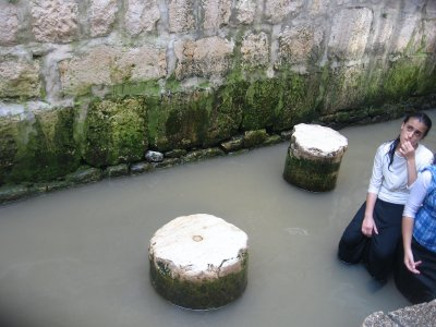 section of Siloam's Pool