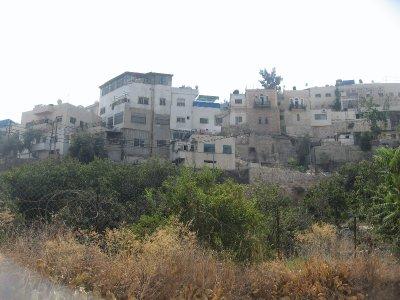 neighborhood just beyond Hezekiah's Tunnel