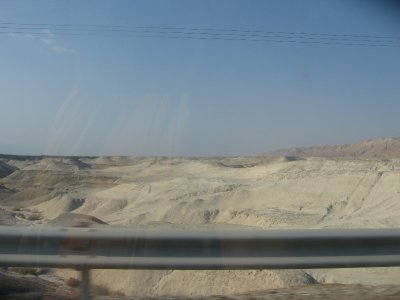 Driving from Jerusalem to the Galilee