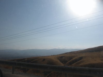 Driving to the Galilee