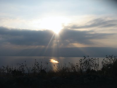 Early this morning in the Galilee