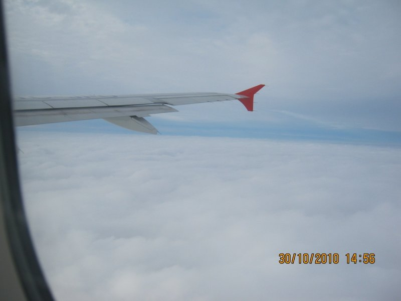 From the air....