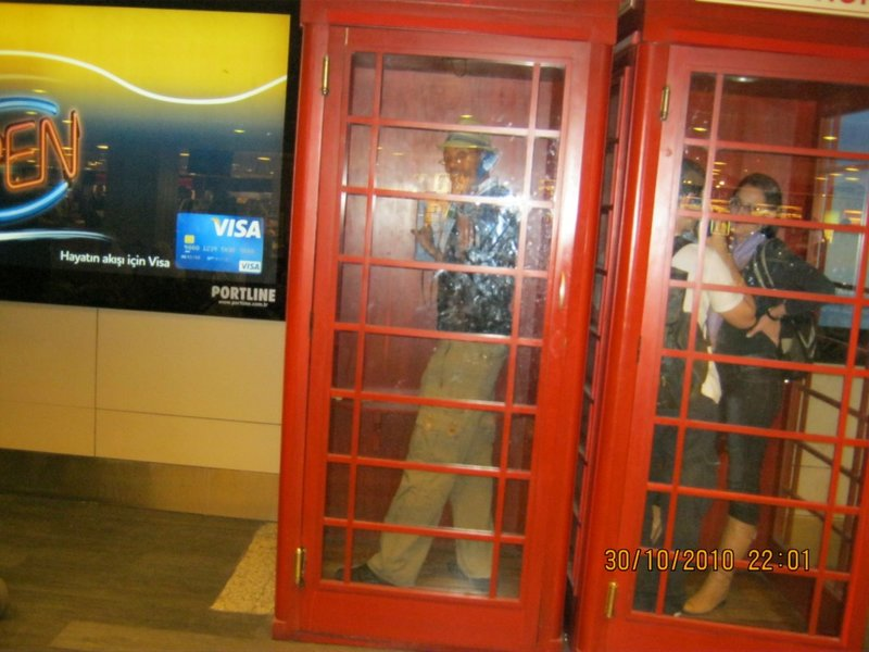 Playing with the European public phone!