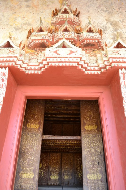 Library that held the sacred Buddha texts in Wat Sisaket