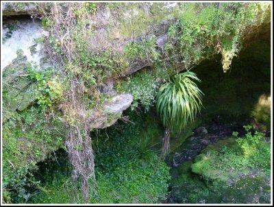 Sink Hole in Mt Gambier