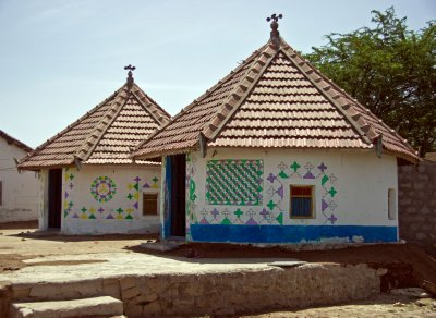 Village hut in the Kutch