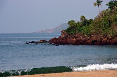 Bogmalo Beachf from Joet's