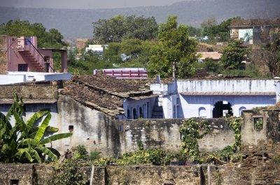 Village at Bhainsrorgarh Fort