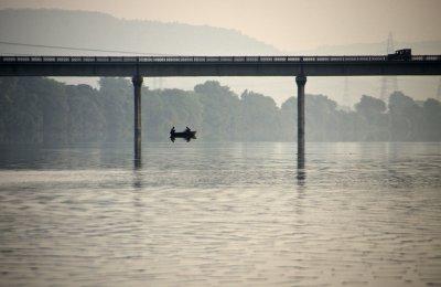 Fishermen on the Chambal.