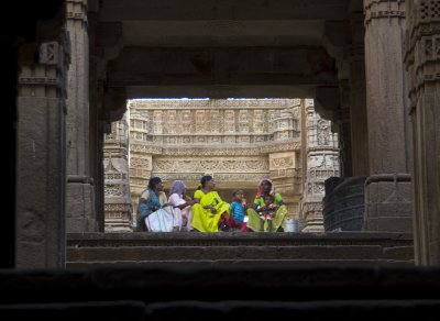 Adalaj Step Well Ladies