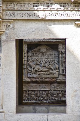Sheysh Shaya at the Rani Ki Wav step well