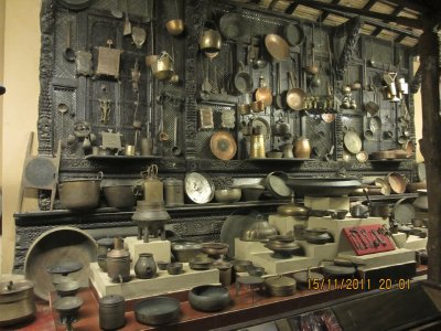 In the Utensil Museum at Vishala