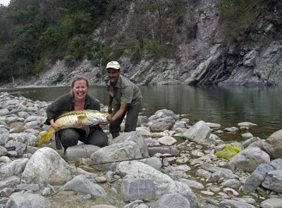 Golden Mahseer catch n release