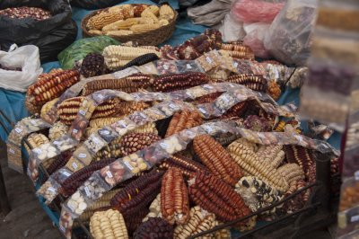 Corn in Pisac Market