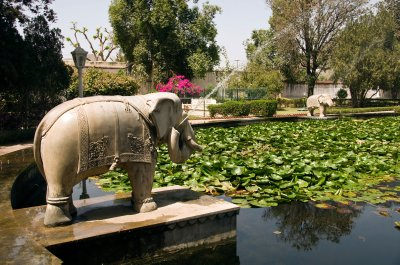 Elephant Fountain at the Garden of Maids