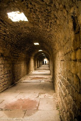 Underground passageway to the hospital temple of Telesphorus