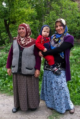 Lovely family portrait in Guzelyurt