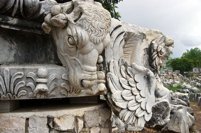 Beautiful Bull! and wings of a griffon. Was the former capital of one of two columns.