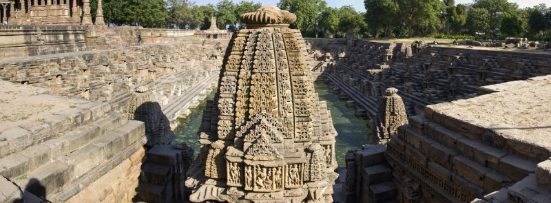 Step well at the Modhera Sun Temple