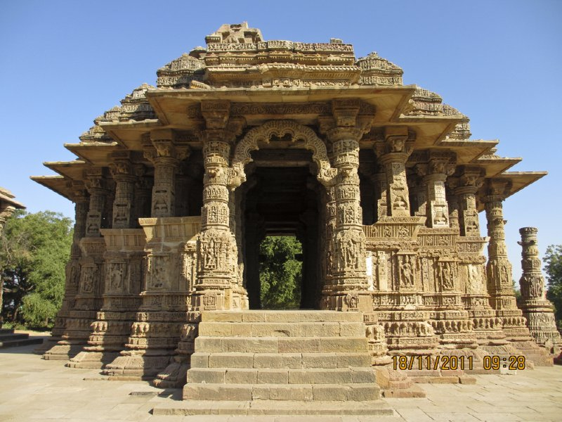 Sabha Mandap at the Modhera Sun Temple