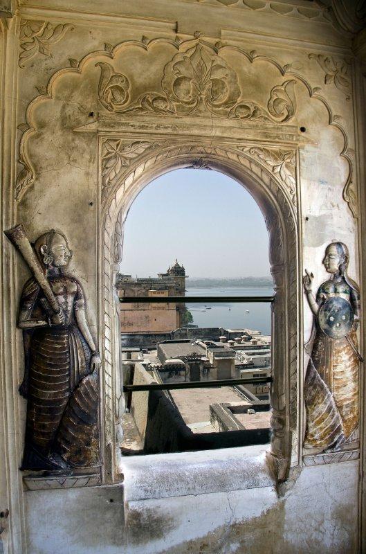 Lake Pichola from Udaipur Palace