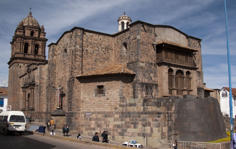 Sun Temple foundation, Cuzco
