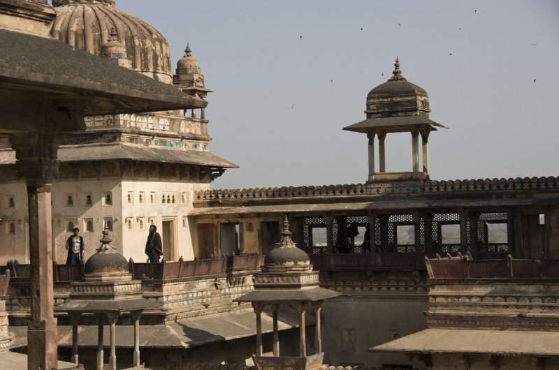 Orchha Fort with Bollywood Junior Artistes