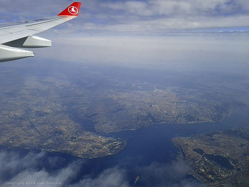 Descending into Istanbul