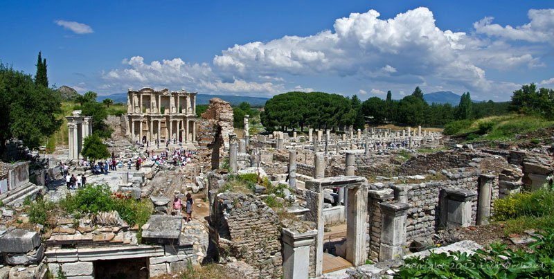 Downtown Ephesus