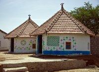 Village hut in the Kutch