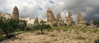 More wonderful rock sculptures outside the Selime Monastery
