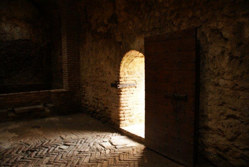Entrance to Banos Arabes