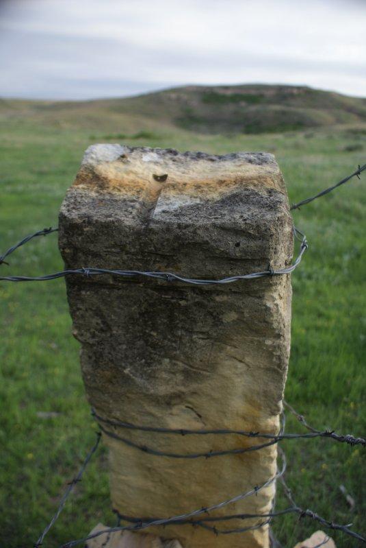 Post Rock Fence