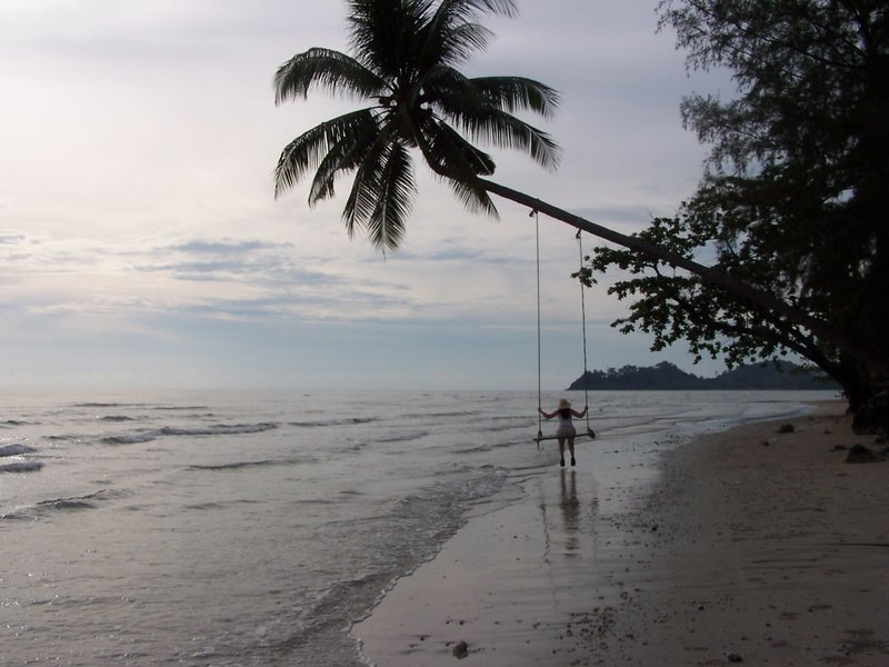 Best seat for sunset on Koh Chang
